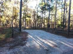 Wekiwa Springs State Park Campground in Apopka Florida Backin
