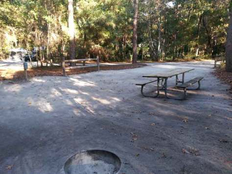 Wekiwa Springs State Park Campground in Apopka Florida Site