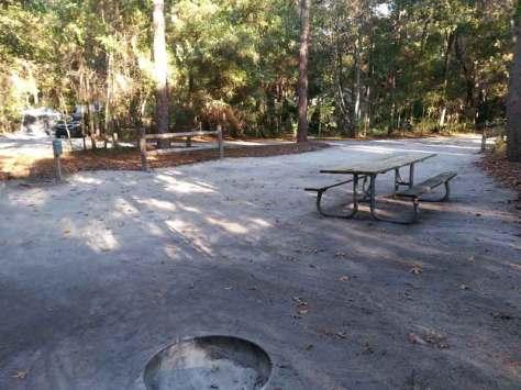 Wekiwa Springs State Park Campground in Apopka Florida Site