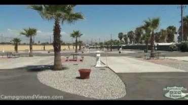 Bakersfield Palms RV Resort Desert Mobile Home And Park