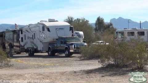 Quartzsite Marketplace and Dry Camp