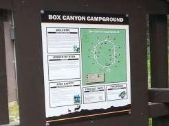 box-canyon-campground-sign