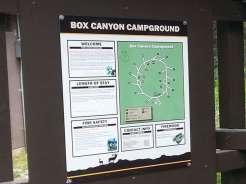 box-canyon-campground-sign