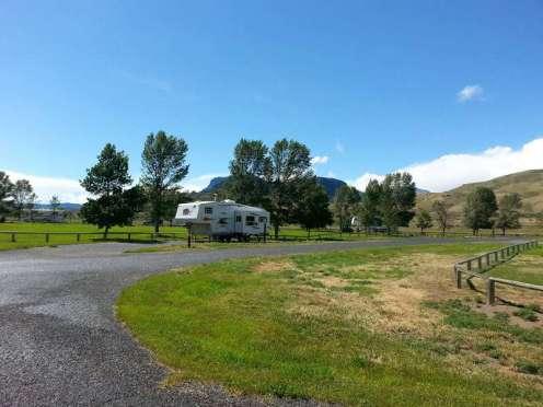 Buffalo Bill State Park North Fork Campground Near Cody