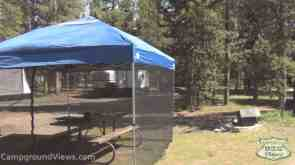 Headwaters Campground and RV sites at Flagg Ranch