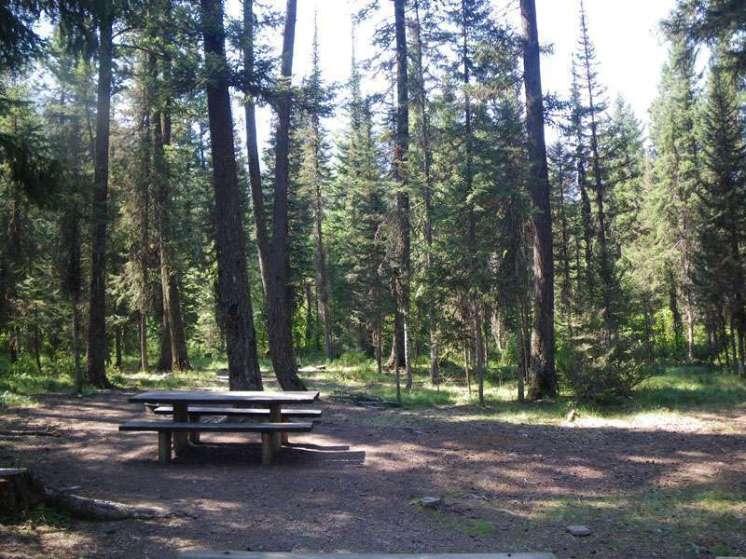 beaver-creek-campground-hungry-horse-montana-site