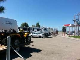 Eddie's Corner Moore Montana Backside of Sites