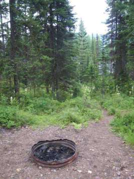 lakeview-campground-hungry-horse-montana-fire-ring