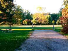 Ambush Park Campground in Benson Minnesota Backin