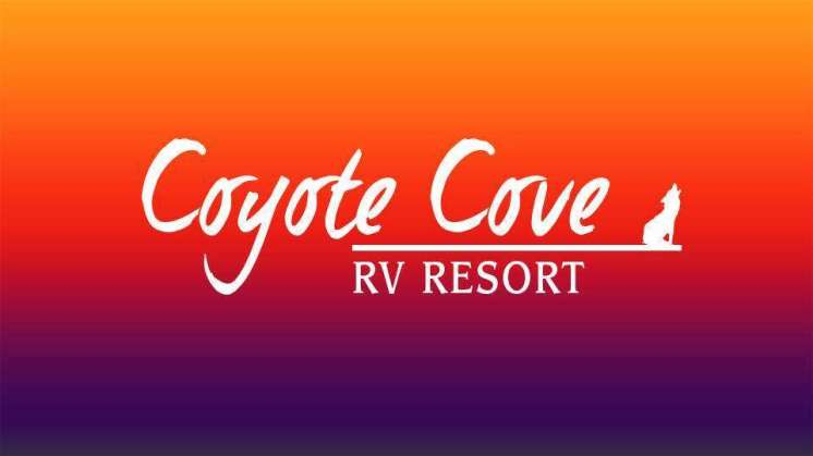 Coyote Cove RV Resort south of Wharton Texas Logo