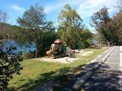 Aunts Creek COE Campground in Reed Springs Missouri (Branson West) Playground