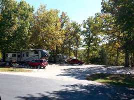 Castle View RV Resort in Branson West Missouri Backin Group