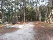 Clarcona Horse Park Campground in Apopka Florida RV Site in Trees
