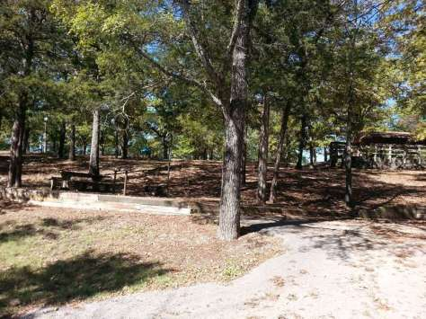 Indian Point Park Campground near Branson Missouri tent sites