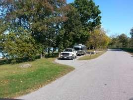 Mill Creek Campground COE in Lampe Missouri pull thru