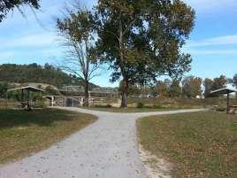 River Run Campground in Forsyth Missouri COE backin