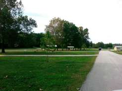River Run Campground in Forsyth Missouri COE spacing