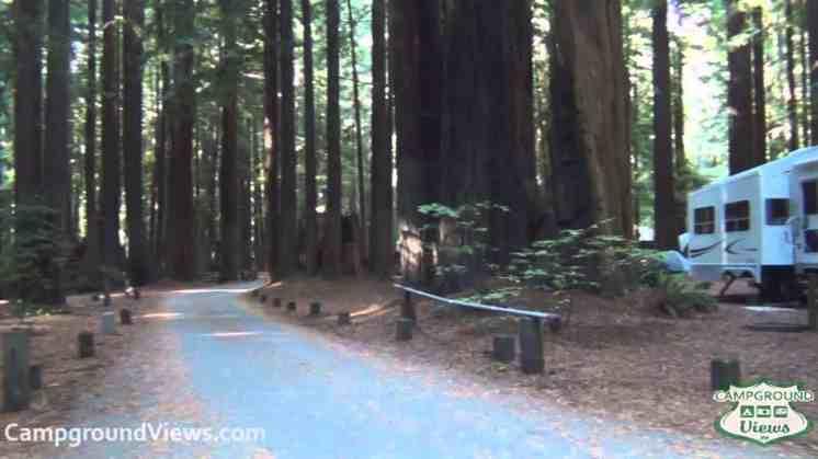 Burlington Campground – Humboldt Redwoods State Park