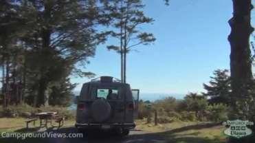 Harris Beach State Park Campground