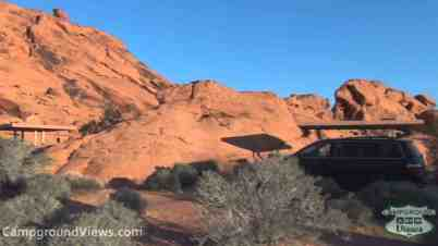 Valley of Fire State Park Campground