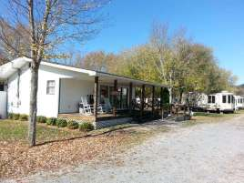 Wonder Land Acres RV Park in Sevierville Tennessee (Wears Valley) Office