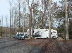 Smoky Mountain Premier RV Resort near Cosby Tennessee backin