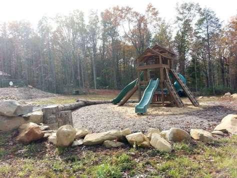 Smoky Mountain Premier RV Resort near Cosby Tennessee Playground
