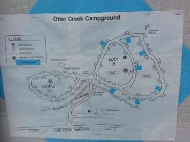 Otter Creek Campground near Monroe Virginia2