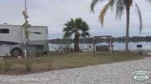 Orlando SE Lake Whippoorwill KOA in Orlando Florida Backin Lakeside