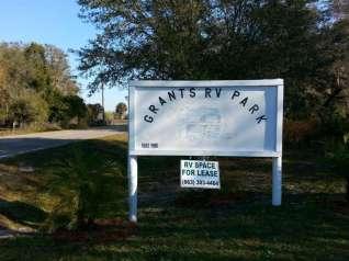 Grants RV Park in Arcadia Florida