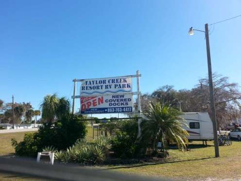 Taylor Creek Resort RV Park in Okeechobee Florida1