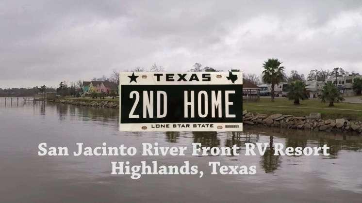 San Jacinto Riverfront Rv Park Highlands Texas Rv Park