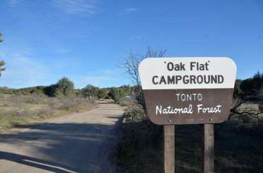 oak-flat-campground-sign