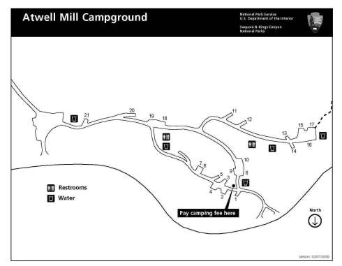 Atwell Mill Campground Three Rivers California Rv Park Campground