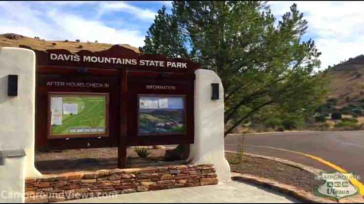 Davis Mountains State Park Campground
