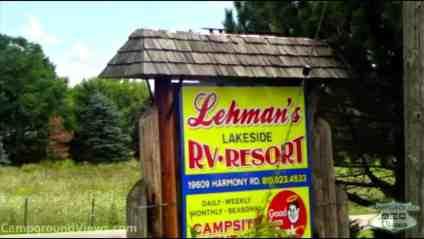 Lehmans Lakeside Resort RV Resort