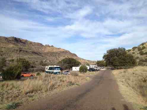 Davis Mountains State Park Campground Fort Davis Texas