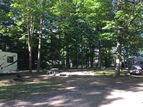 Indigo Bluffs Rv Park Empire Michigan Rv Park