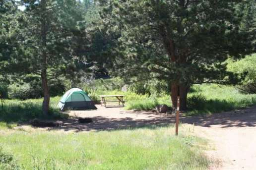 The Estes Park Campground at East Portal