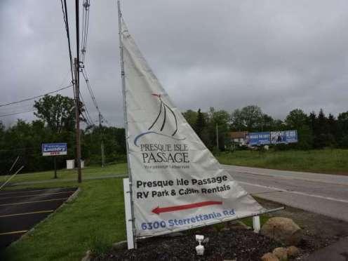 Presque Isle Passage