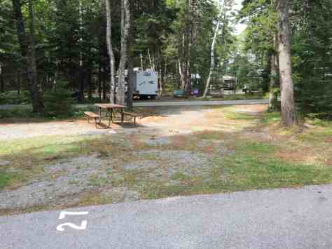 Seawall Campground