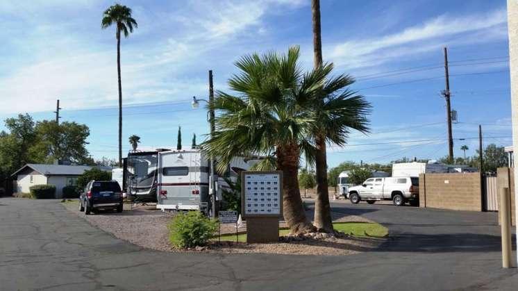 Twin Palms Rv Park Mesa Arizona Rv Park Campground