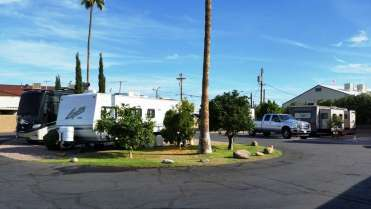 Twin Palms Rv Park In Mesa Arizona Az