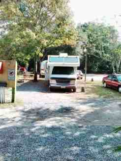 Papa Bass Campground Gulf Breeze Florida Rv Park