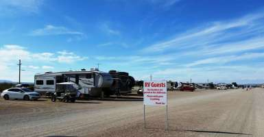 Tucson Trap and Skeet Club RV Sites