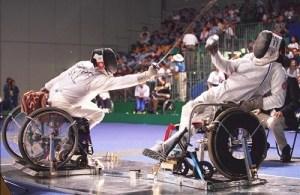 Spada per disabili