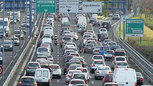 Napoli, aumento della Tangenziale a 1 euro dal 1 gennaio