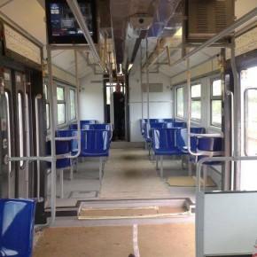 nuovi treni della Cumana 3