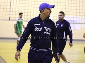 Costantino Cirillo, coach del Pozzuoli Volley