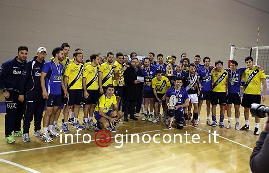 Il Pozzuoli Volley sfiora il successo: la Coppa la vince il Baiano al tie-break